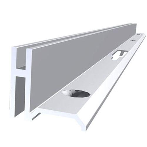Cremalheira Alumínio Simples 2,55 mtrs Anod 9505 W