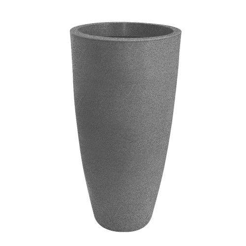 Vaso Vietnamita Fosco 98 Cinza Granito