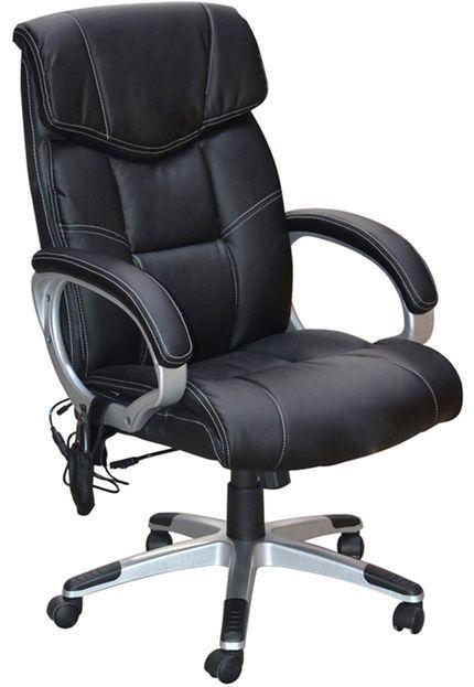 Cadeira Office Cartagena C/Massagem Preta