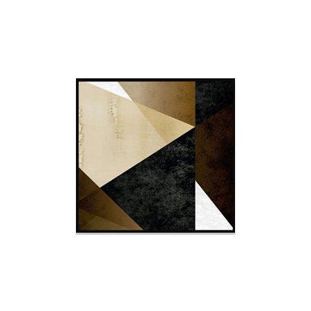 Quadro em Canvas - Geométrico Quadriculado