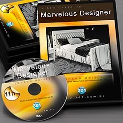 Vídeo Curso Marvelous Designer