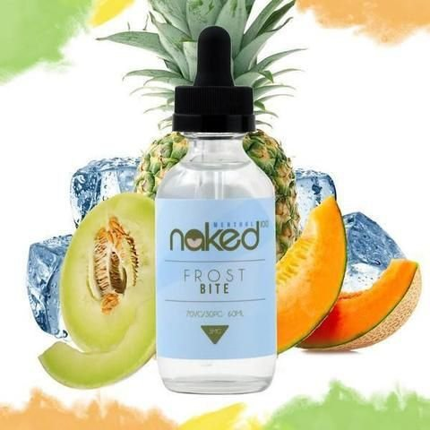 Líquido Naked 60ml Nicotina- Frost Bite