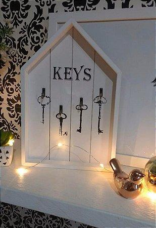Porta chaves casinha