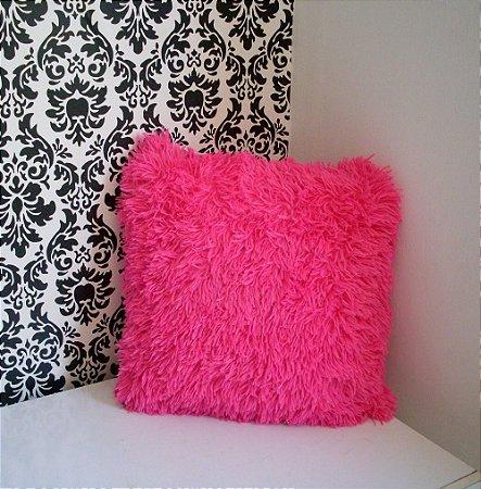 Almofada pelúcia pink