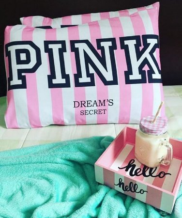 Fronha pink