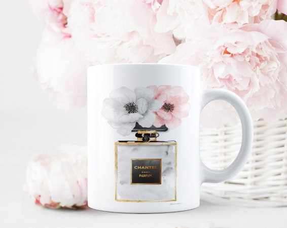 Caneca Chantel Floral