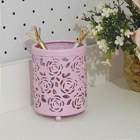 Porta Lápis Floral