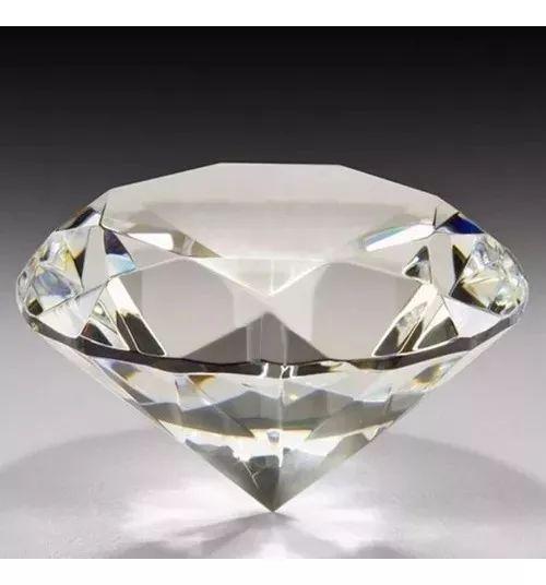 Diamante Peso Papel Decoração