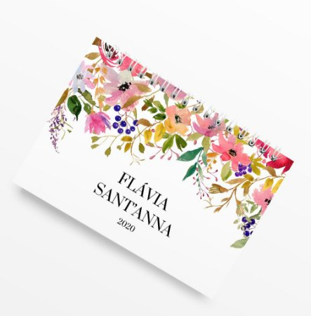 Planner Anual Flower Blush