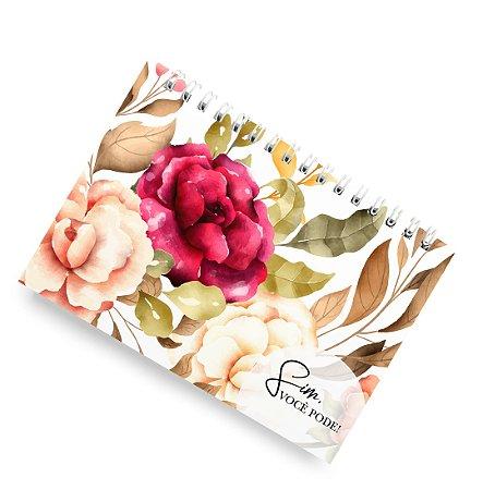 Planner Floral Blush