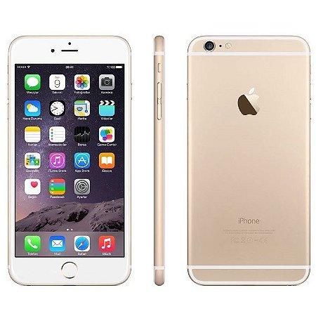 iPhone 6 64gb Apple 4G LTE Desbloqueado Dourado Usado