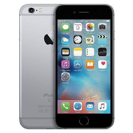 iPhone 6s 16gb Apple 4G LTE Desbloqueado Cinza Espacial - Produto de Vitrine Usado com Garantia de 90 dias