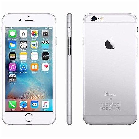 iPhone 6s 64gb Apple 4G LTE Desbloqueado Prateado Usado