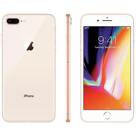 iPhone 8 Plus 64gb Apple 4G Desbloqueado Dourado - Lacrado Garantia Apple de 1 Ano