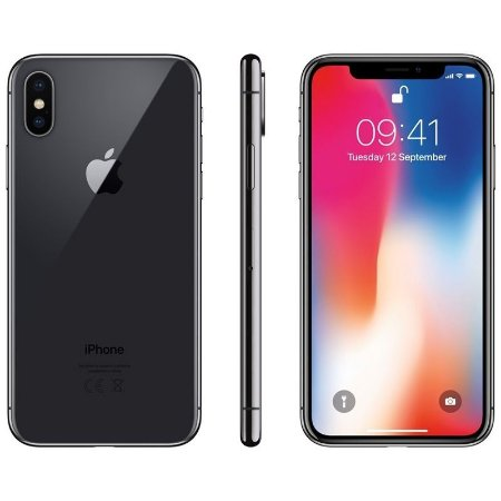 iPhone X 256gb Apple 4G Desbloqueado Cinza Espacial - Lacrado Garantia Apple de 1 Ano