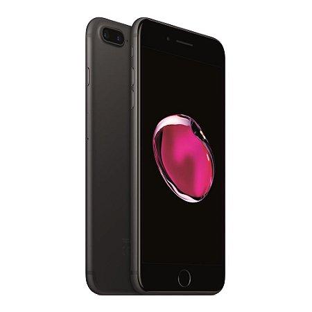 iPhone 7 Plus 128gb Apple 4G LTE Desbloqueado Preto Fosco - Produto de Vitrine Usado com Garantia de 90 dias