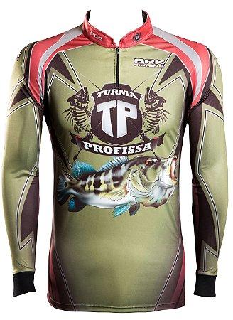 Camisa de Pesca Brk Turma Profissa 1.0 com FPU 50+