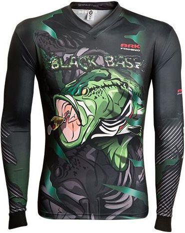 Camisa de Pesca Brk River Monster Black Bass 2.0 com fpu 50+