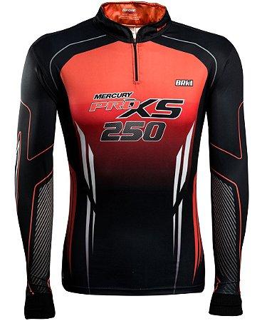 Camisa de Pesca Brk Fury Mercury com fps 50+