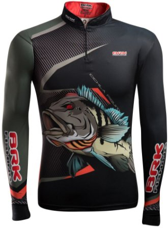 Camisa de Pesca Brk Cichla Piquiti com fps 50+