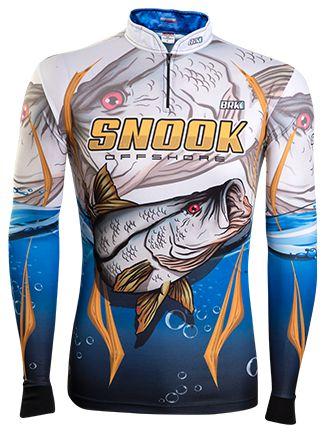 Camisa de Pesca Brk Snook Offshore  com fps 50+