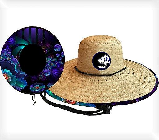 Chapéu de Palha OutSider Brk BRK FLOWERS