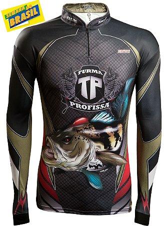 Camisa de Pesca Brk Turma Profissa 2.0 com fps 50+