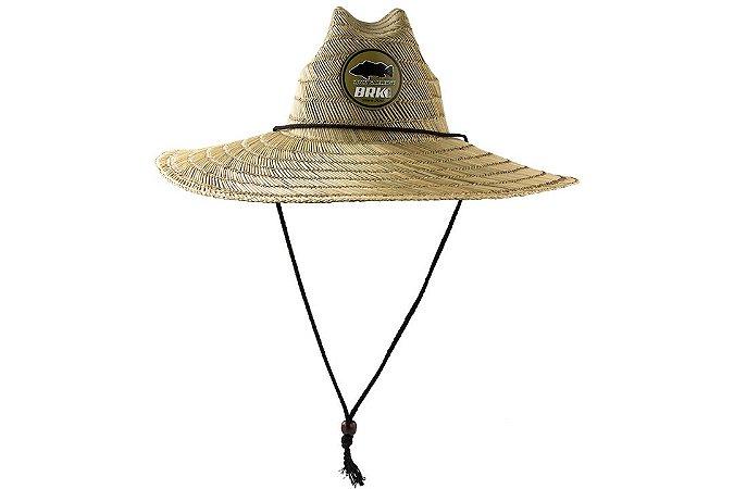Chapéu de Palha Australiana BRK PierSide com cordão regulador