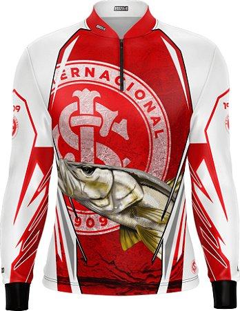 Camisa De Pesca Robalo Futebol 13 Com Fps 50+