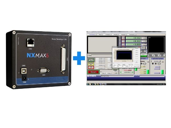 PROMOÇÃO: CONTROLADORA NX-MAX6 + 1 LICENÇA DO SOFTWARE MACH3