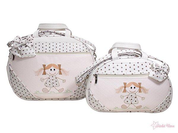 Kit Bolsa Maternidade Boneca BN-02 - Personalizado