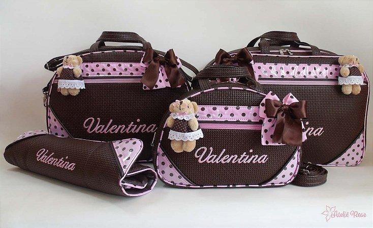 Kit Bolsa Maternidade NM-02014 - Personalizado