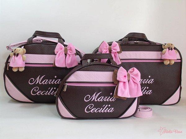 Kit Bolsa Maternidade NM-01013GMP - Personalizado