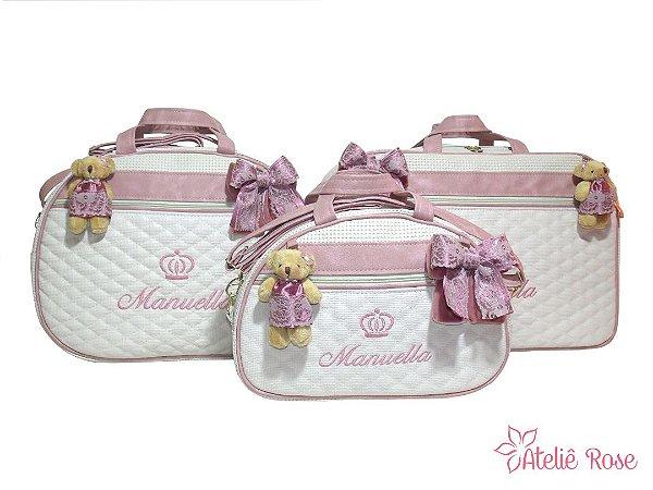 Kit Bolsa Maternidade CR-0104 - Personalizado