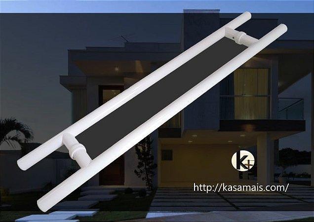Puxador Tubular H - Cor Branco - 70cm