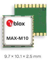 Receptor GNSS GPS Glonass MAX-M10S baixo consumo para localizacao de ativos