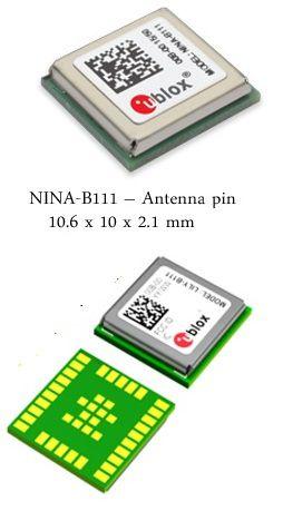 Módulo BLE (Bluetooth Low Energy) para antena externa - NINA-B111