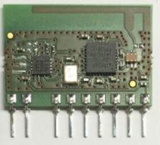 Rádio 2,4GHz DSSS 3V - transceiver (TX+RX) - antena integrada - 32001271