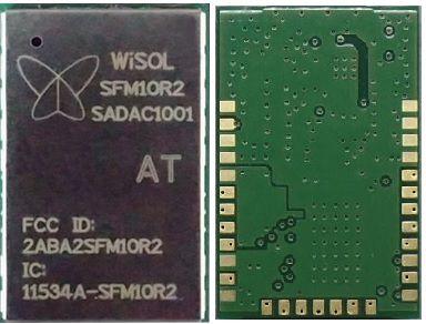 Módulo Sigfox Wisol para zona RCZ2 - SFM10R2