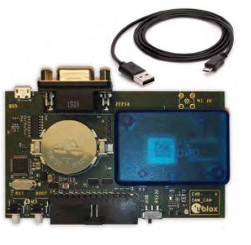Kit de desenvolvimento u-blox para GNSS (GPS / Glonass) SAM-M8Q - EVK-M8QSAM