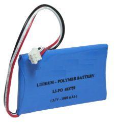 Bateria LiPo 3.7V 1000mAh
