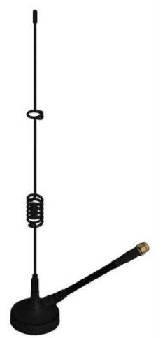 Antena multibanda 4G com base magnetica, cabo 3M, conector SMA(M) 180 graus - AN4G-EBM-3M-SMAM-JS