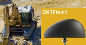 Antena combo GNSS e satelital iridium - SATFLEET