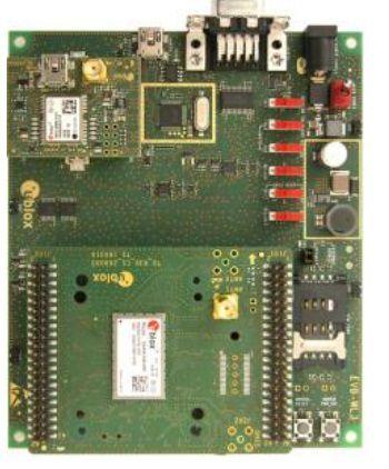 Kit de desenvolvimento u-blox para modem SARA-R410M-02B - EVK-R410M-02B