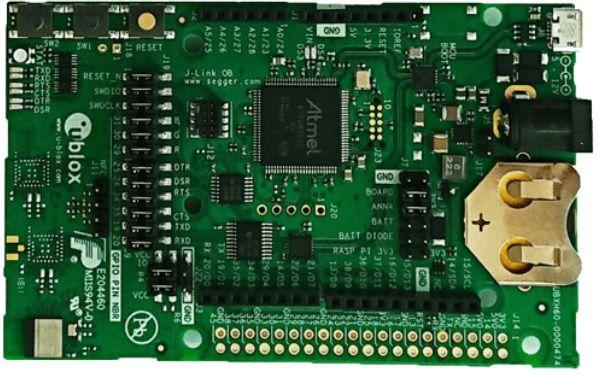 Kit de desenvolvimento BLE para ANNA-B112 - EVK-ANNA-B112C