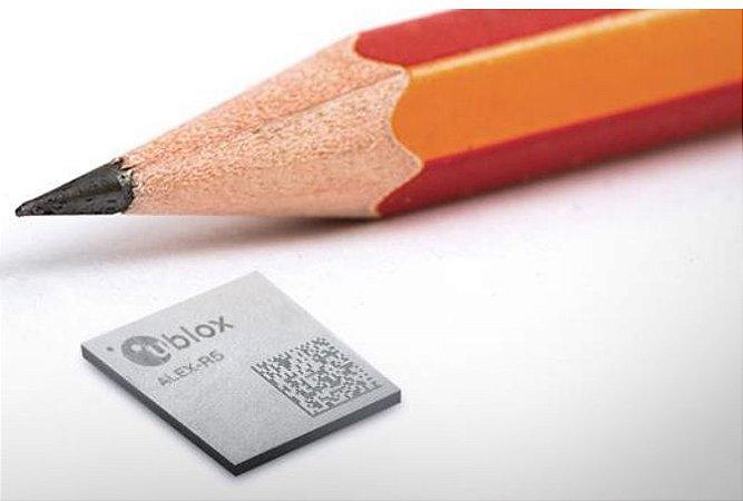 Modem NB-IoT / Cat.M / 5G-ready ALEX-R com GNSS integrado - ALEX-R510M8S