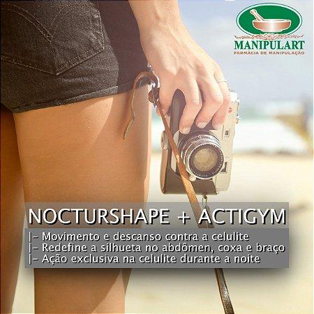 NOCTURSHAPE + ACTIGYM | Movimento e descanso contra a celulite
