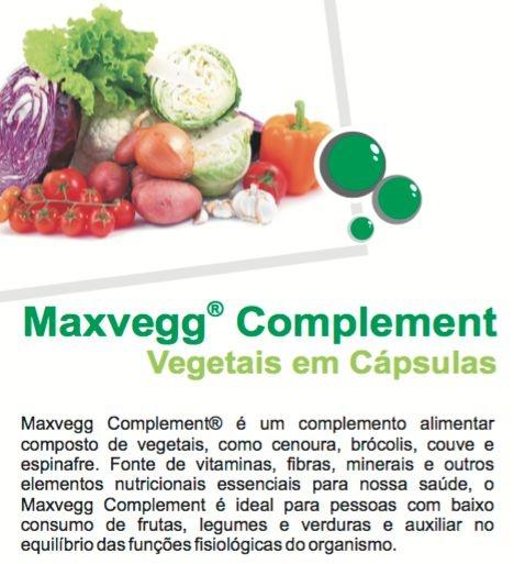 Maxvegg Complement | A Capsula com frutas, legumes e verduras