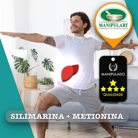 SILIMARINA + METIONINA     TRATO HEPATICO