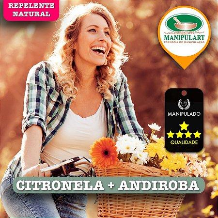 ÓLEO CITRONELA + ANDIROBA | REPELENTE NATURAL